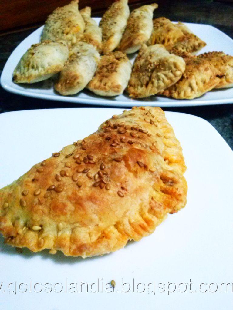 Empanadillas caseras de pisto ,  receta casera