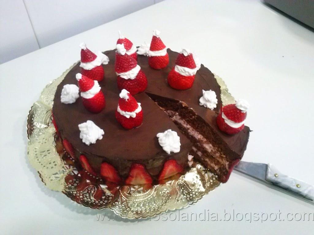 Tarta De Chocolate Y Fresas Receta Casera Paso A Paso