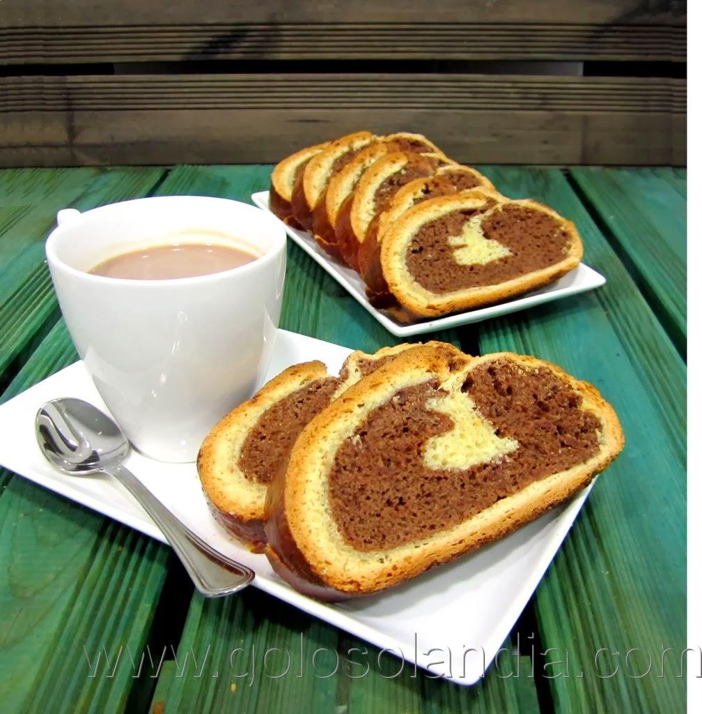 Pan de leche y chocolate