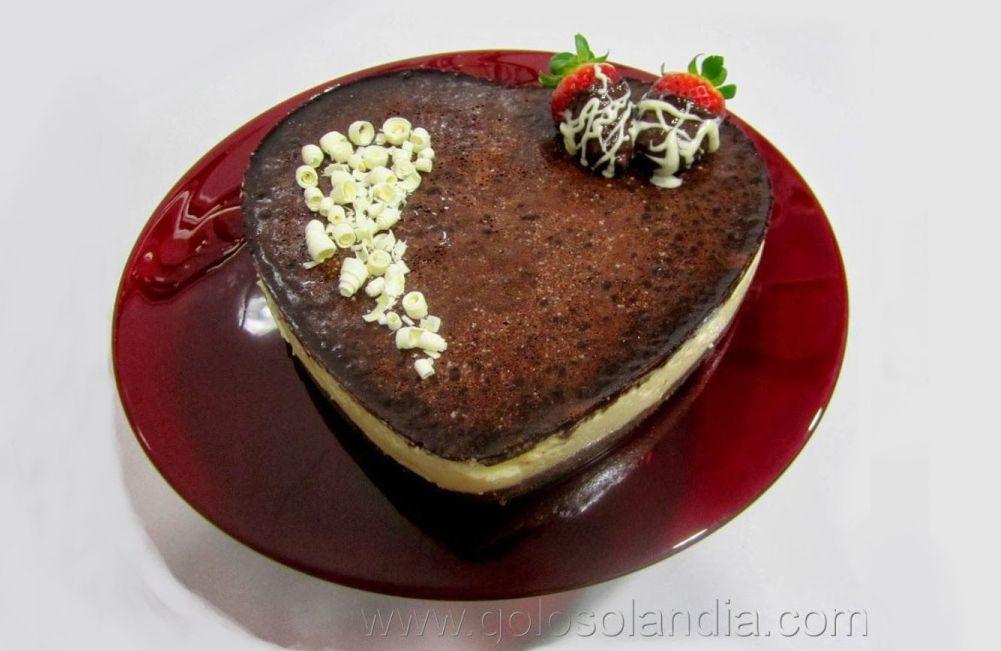 Baño Chocolate Blanco Para Tartas: de tartas perfectas para san valentin: Tarta de chocolate blanco