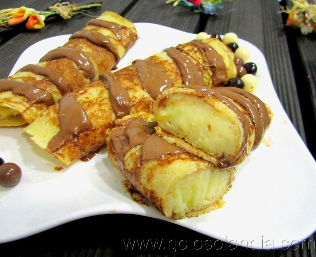 Crepes f cil receta casera paso a paso - Ingredientes para crepes ...