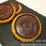 Galletas con chocolate