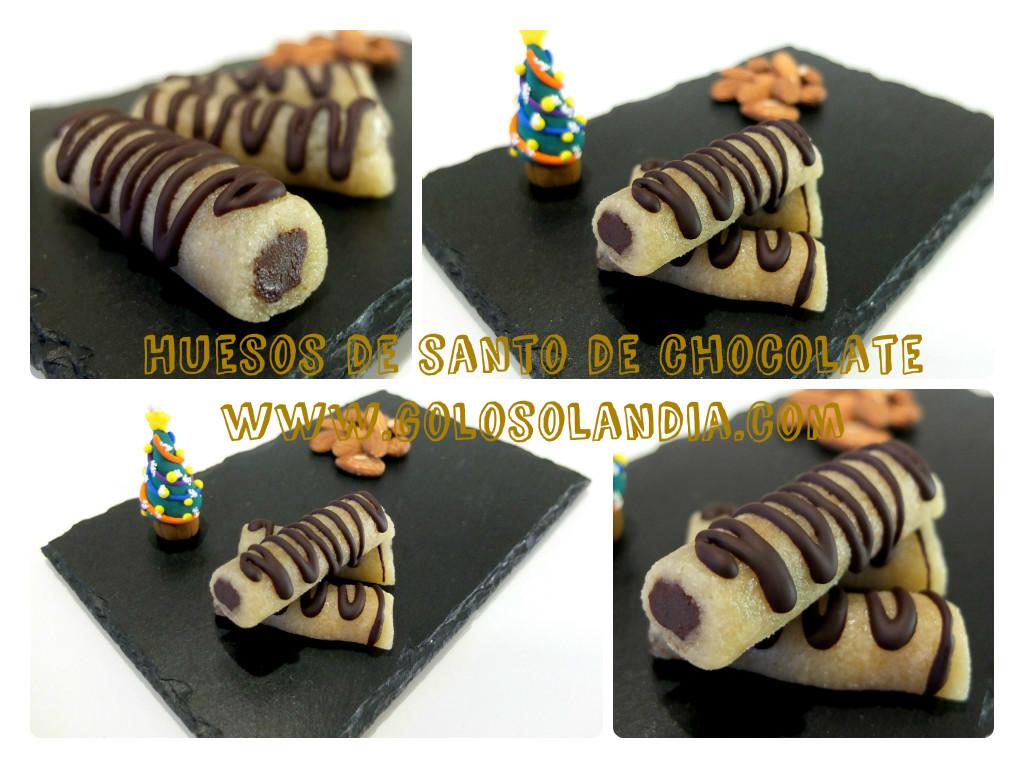 Huesos de santo chocolate