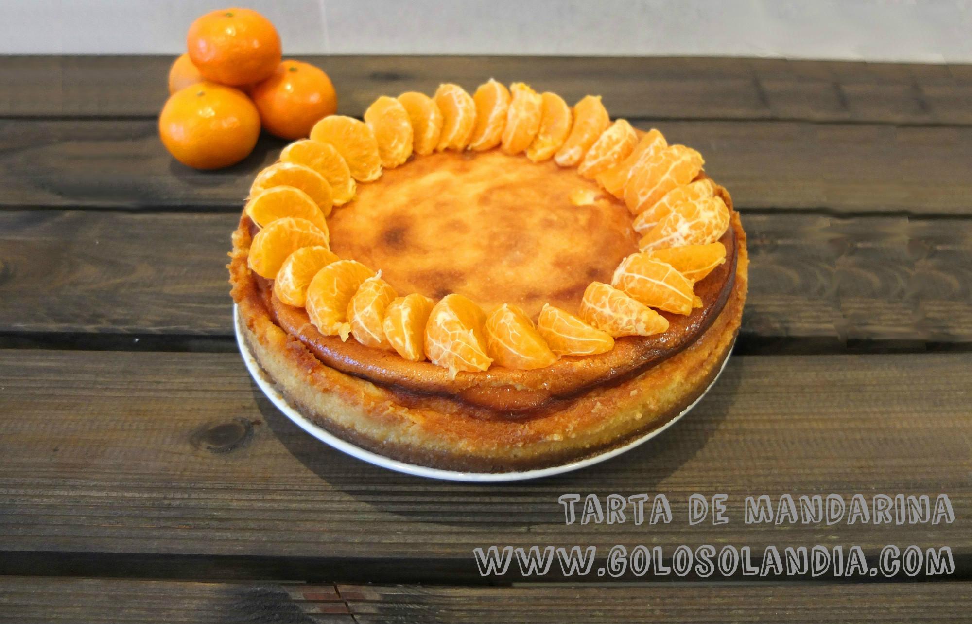 Tarta de mandarina f cil receta casera paso a paso - Postre con mandarinas ...