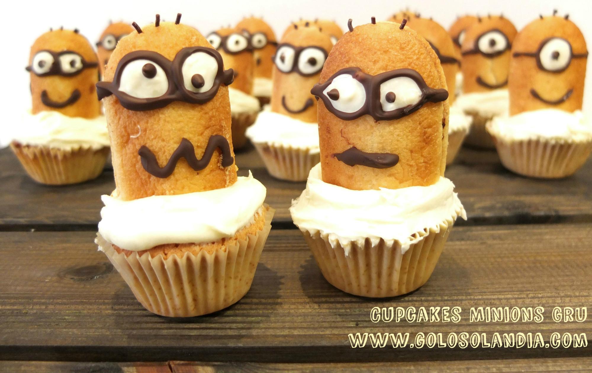 Cupcakes Minions Gru