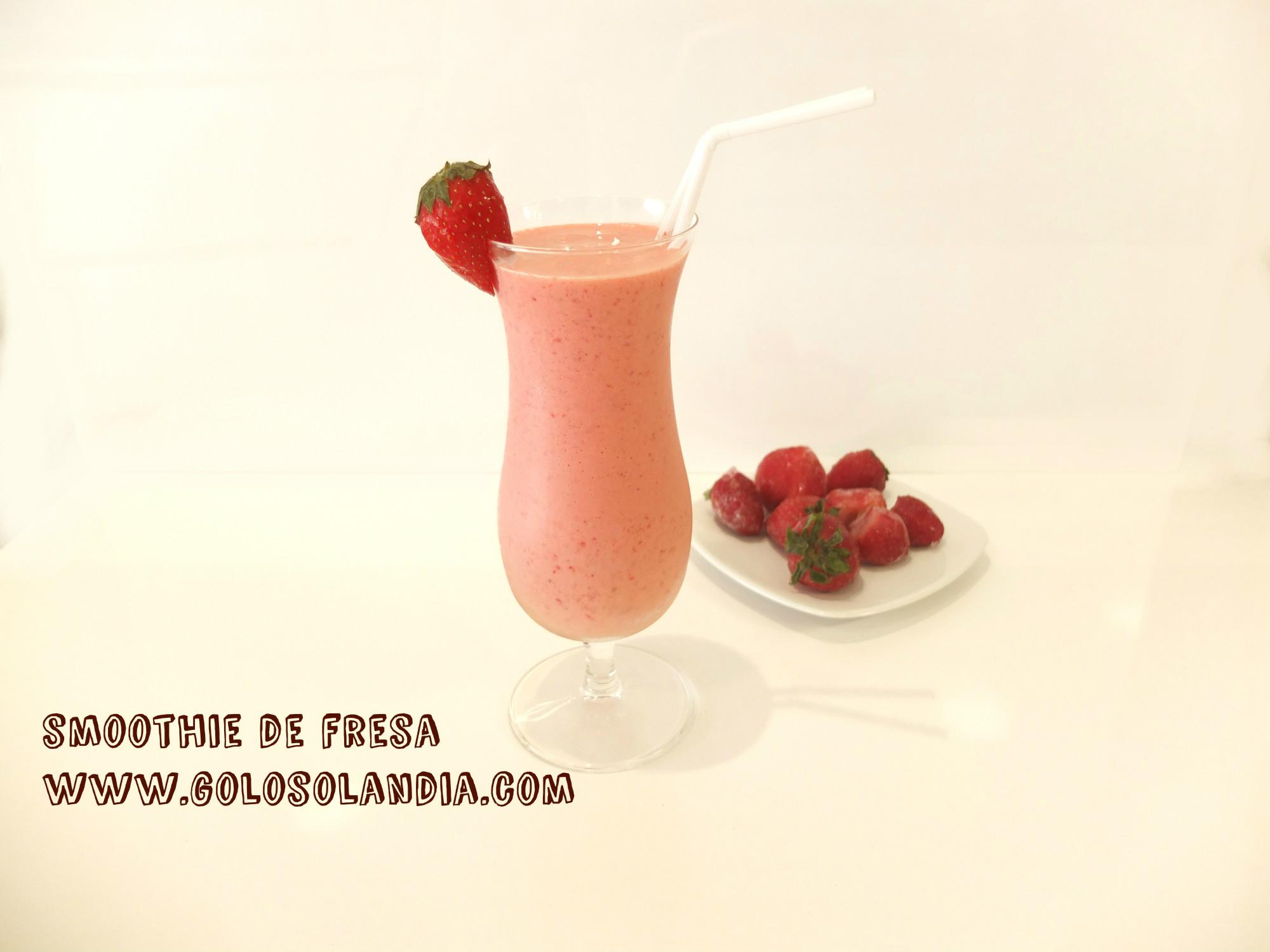 Smoothie de fresa
