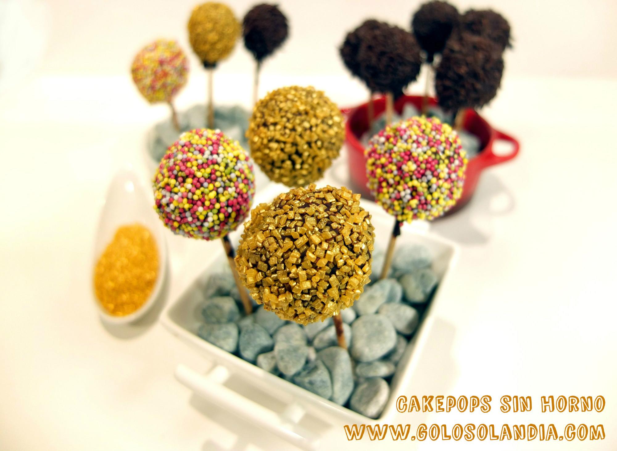 Cakepops sin horno