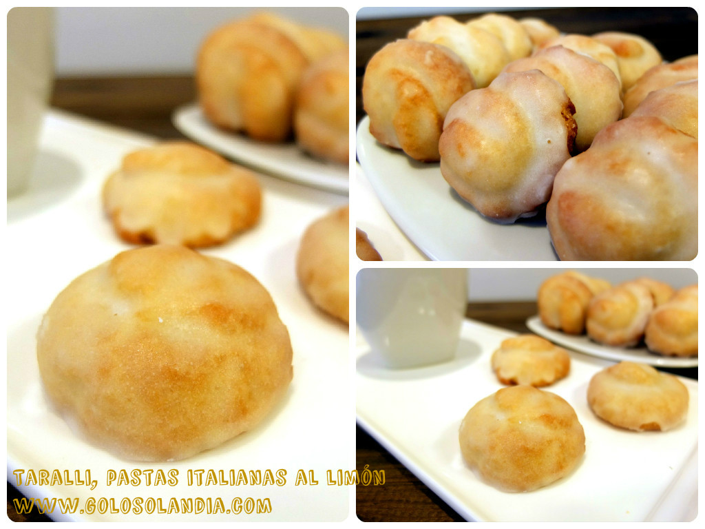 Taralli, pastas italianas al limón