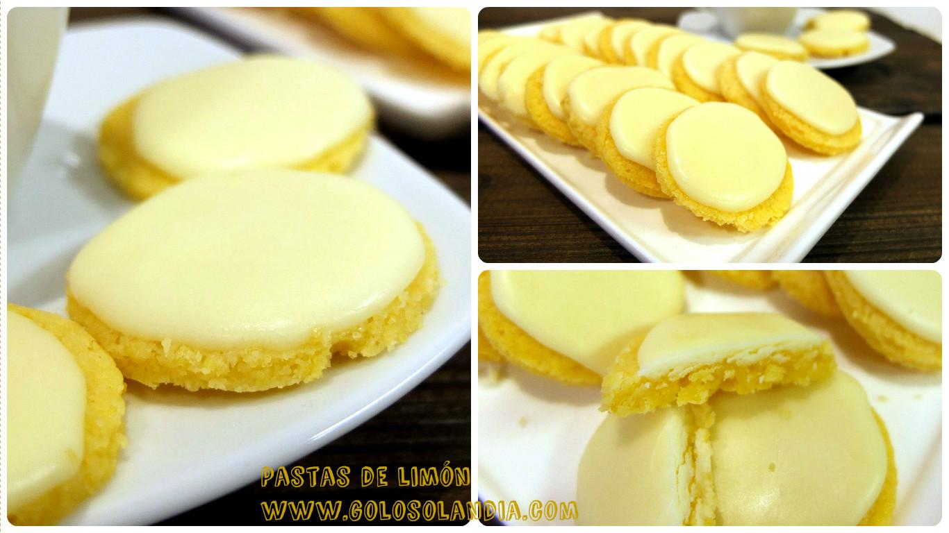 Pastas de limón