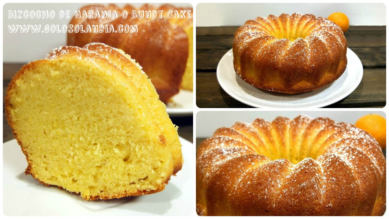 Bizcocho de Naranja o Bundt Cake