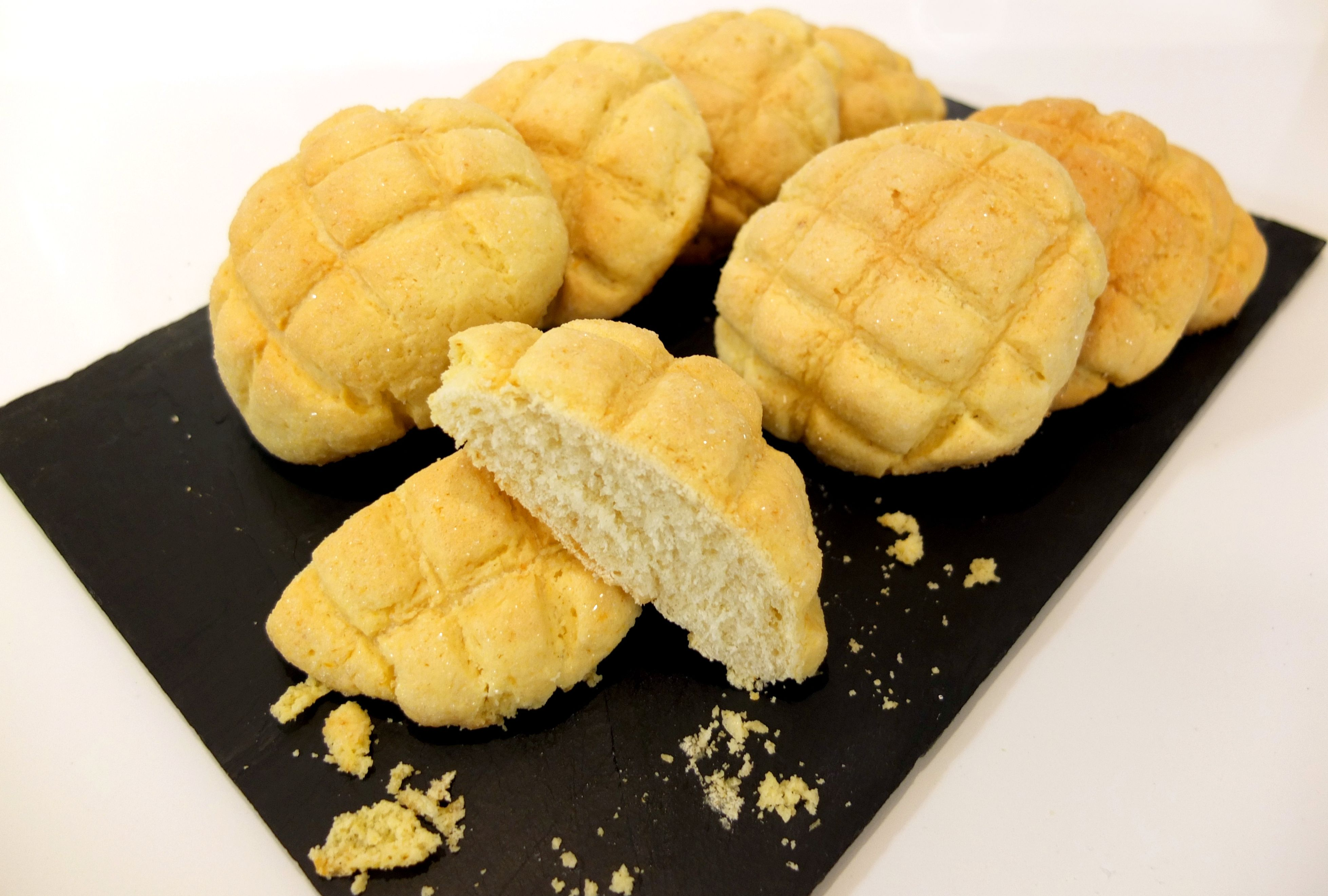 Melon pan, meronpan, pan de melón o pan de concha