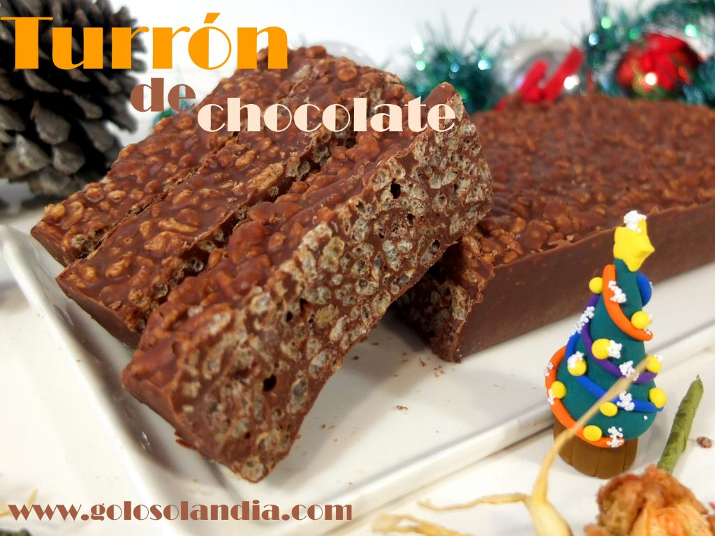 Turrón De Chocolate Tipo Suchard