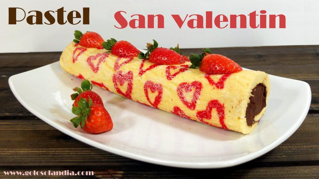 Pastel San Valentín
