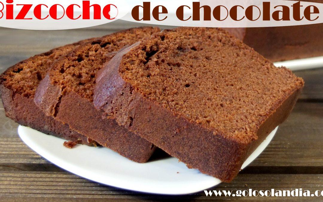 Como hacer bizcocho de chocolate