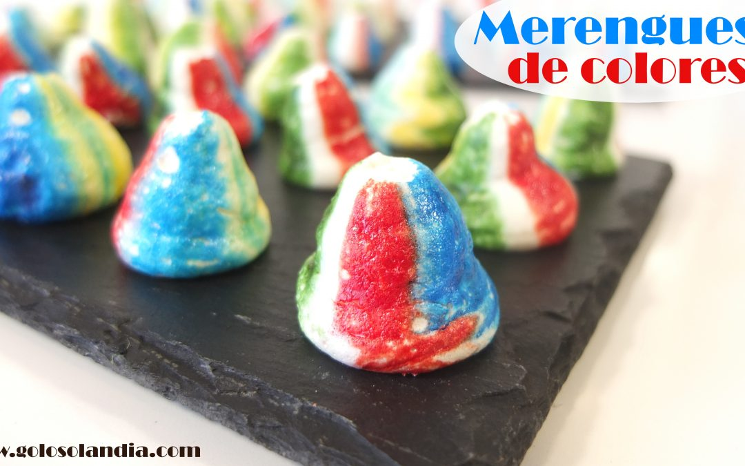 Merengues de colores