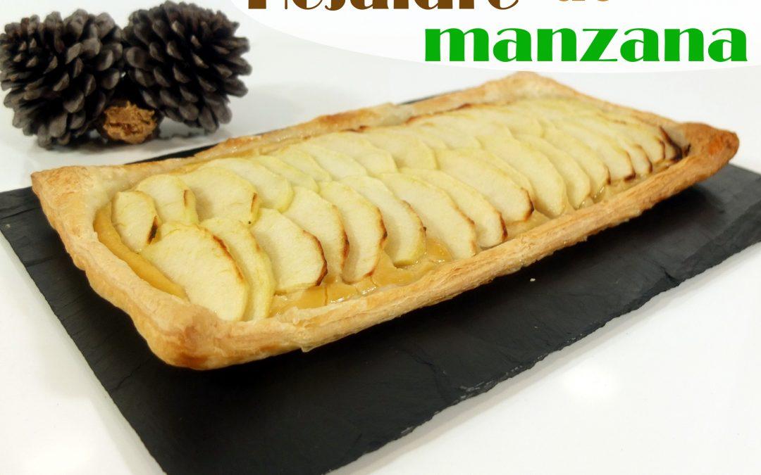 Hojaldre o tartaleta de manzana
