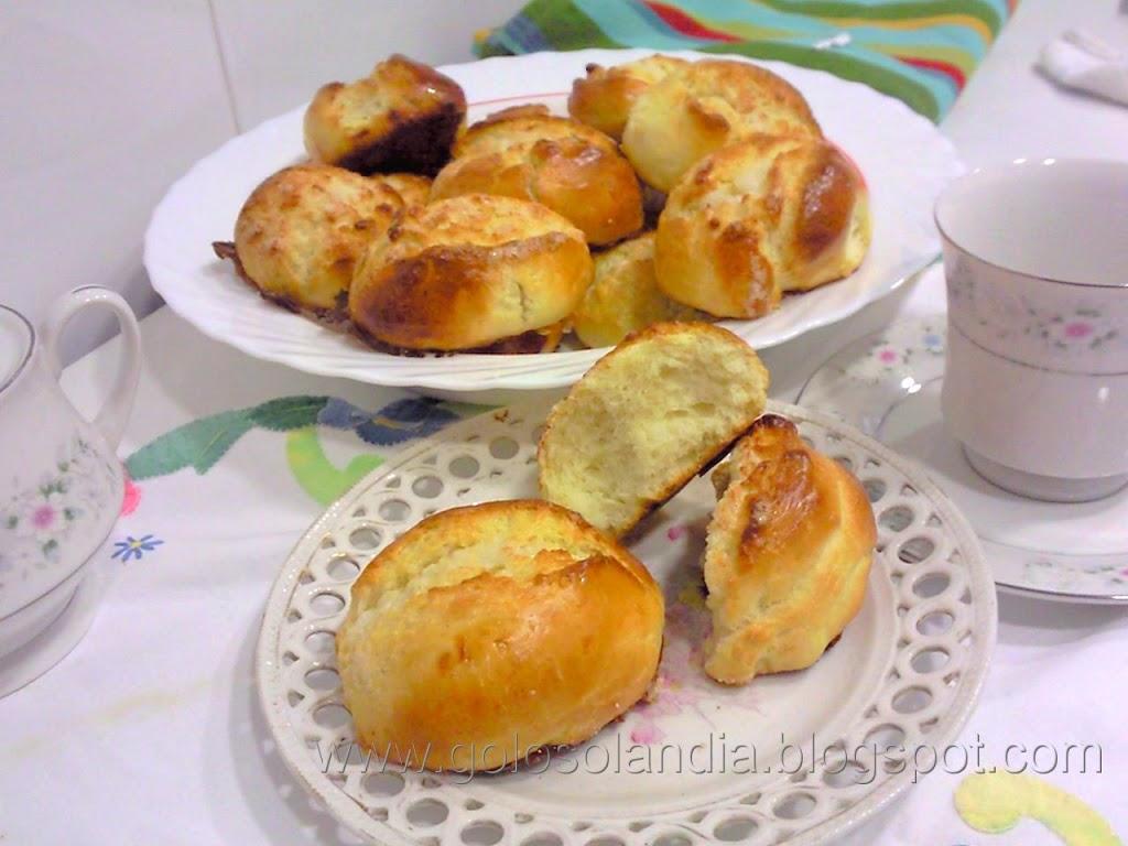 Bollos suizos o bollos de leche(pan de leche)