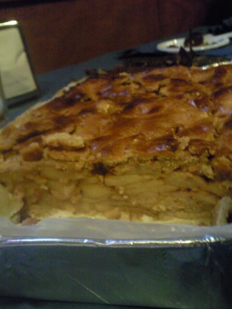 Tarta de manzana, receta casera