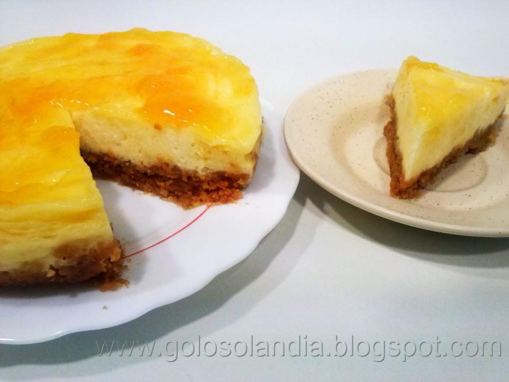 Tarta rápida de queso (5 minutos y al microondas)