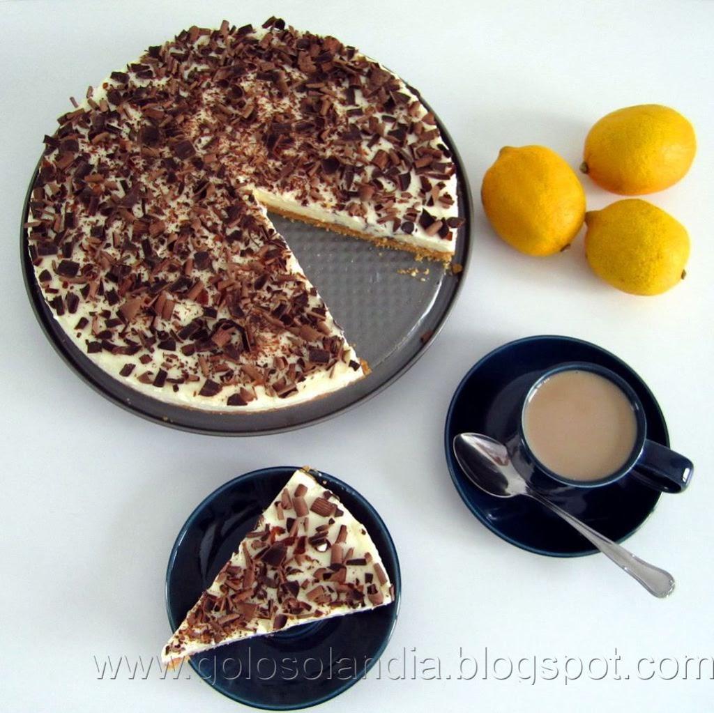 receta tarta de limón
