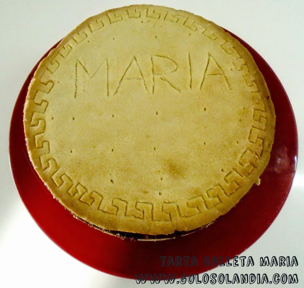 Tarta galleta Maria