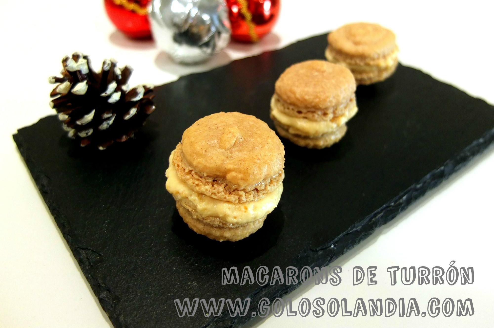 macarons de turron
