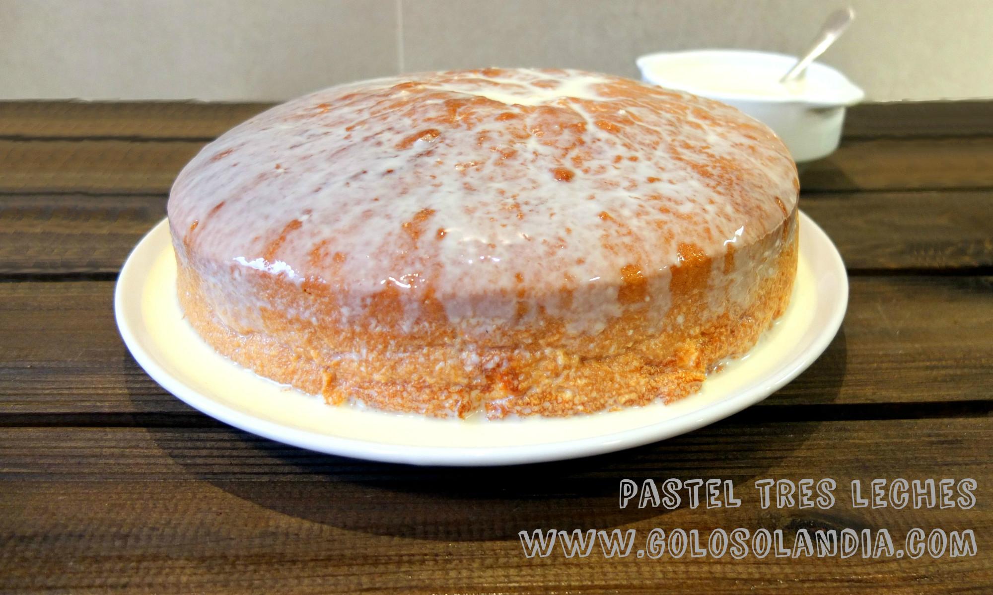 torta de tres leches facil