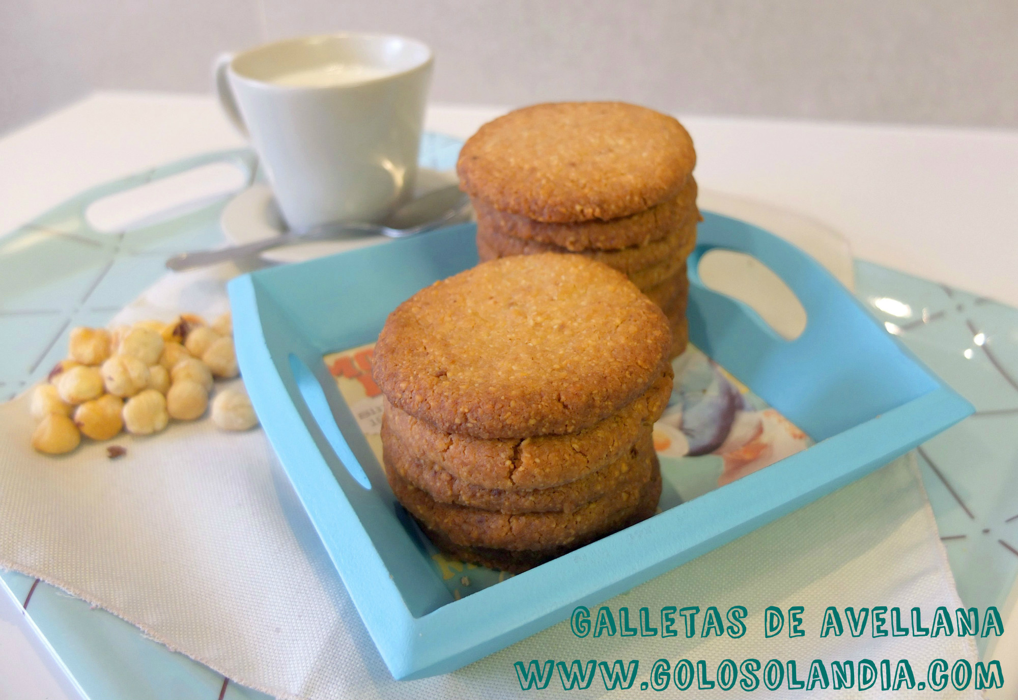 Galletas de avellana