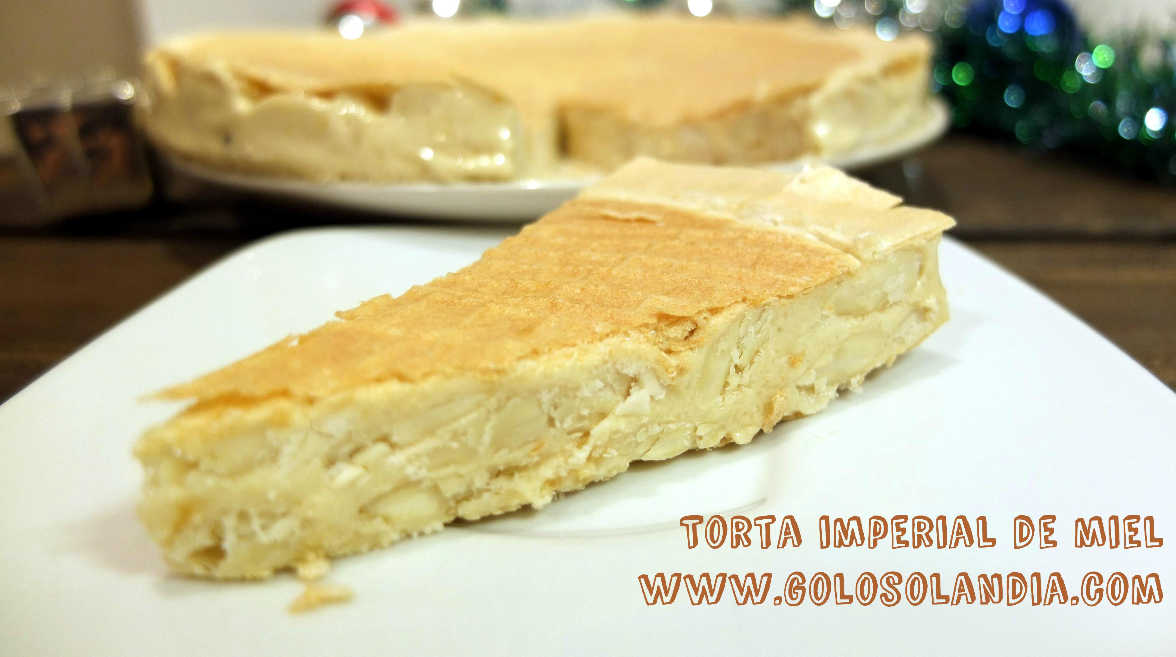 Torta imperial de miel