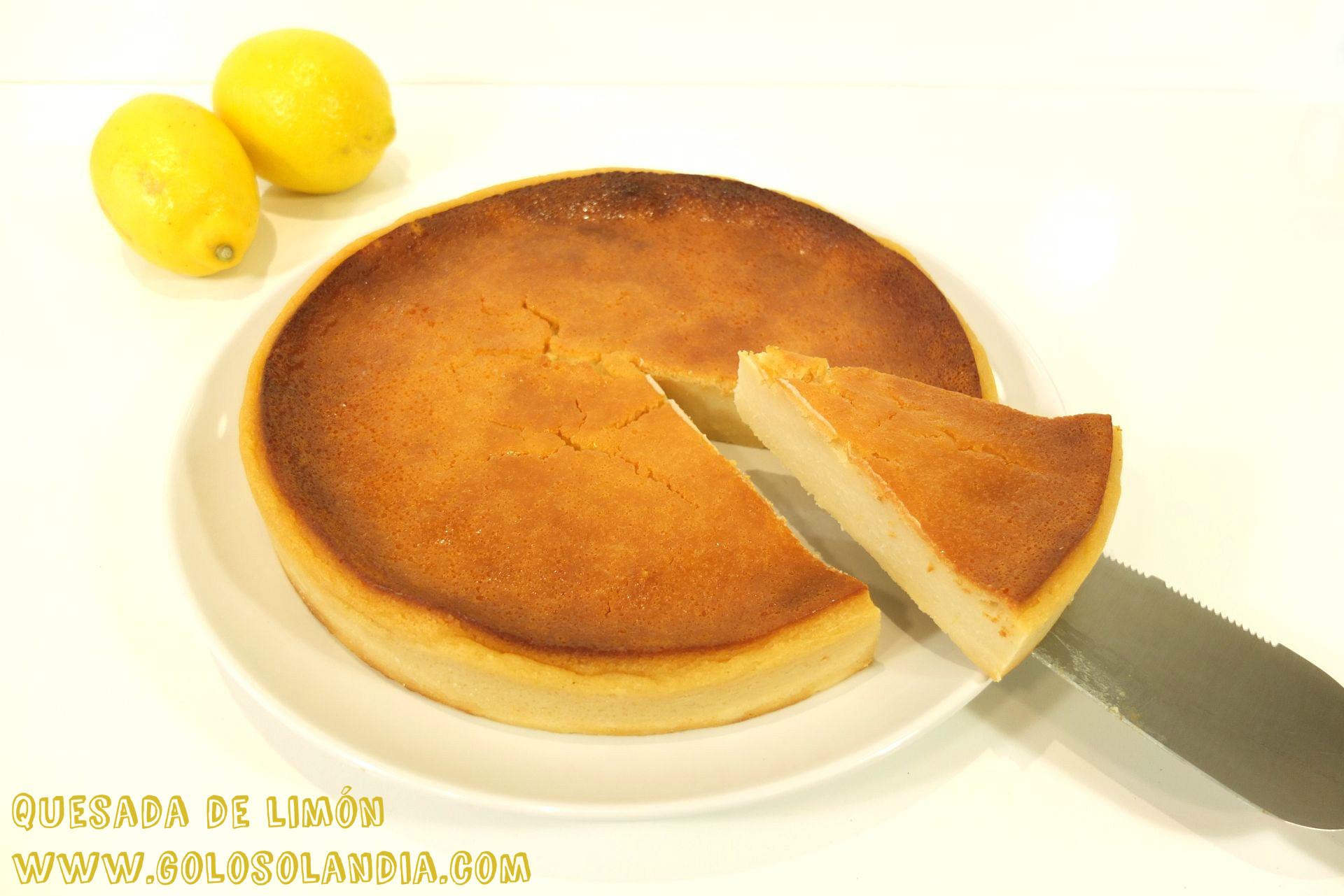 Quesada de limón