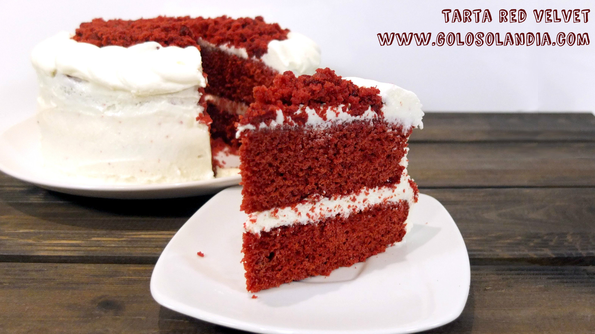 Tarta red velvet receta f cil paso a paso y v deo for Como decorar una torta facil y rapido