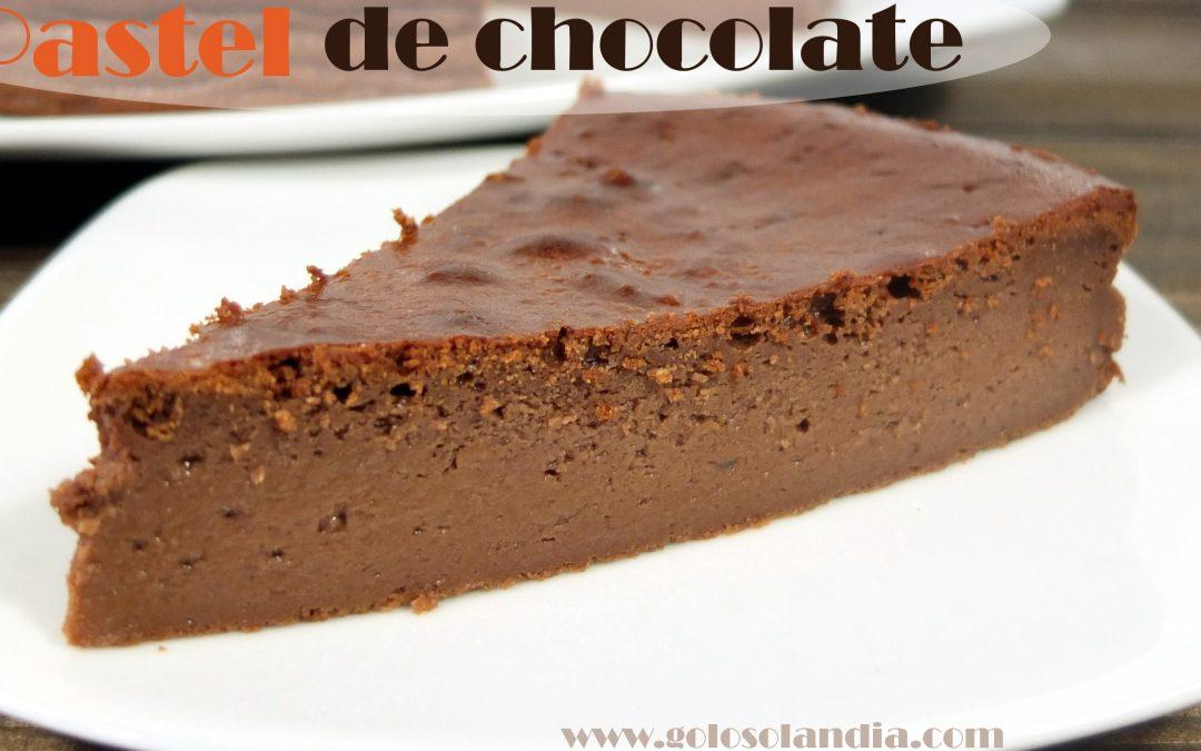 Pastel de queso y chocolate fácil