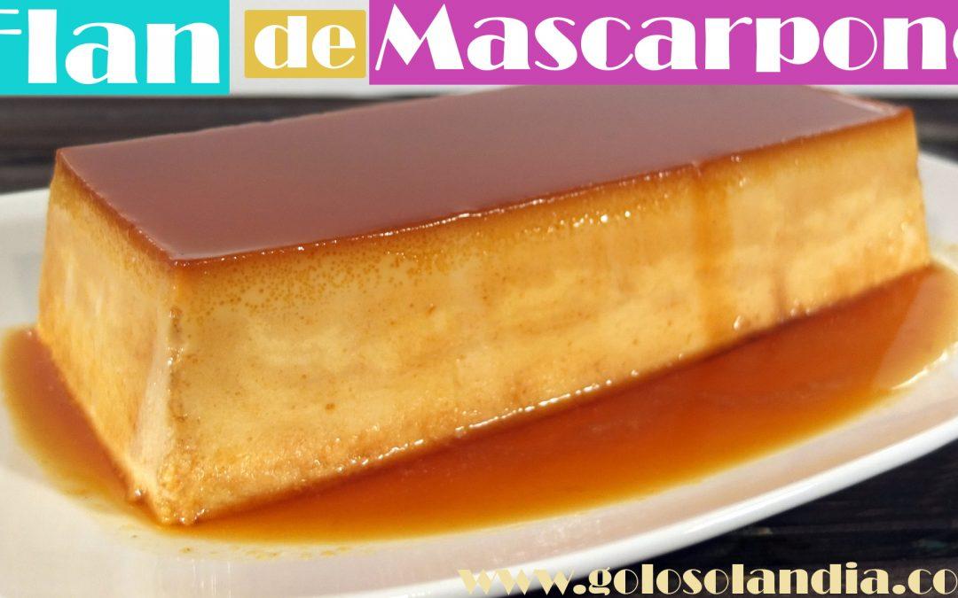 Flan de Mascarpone