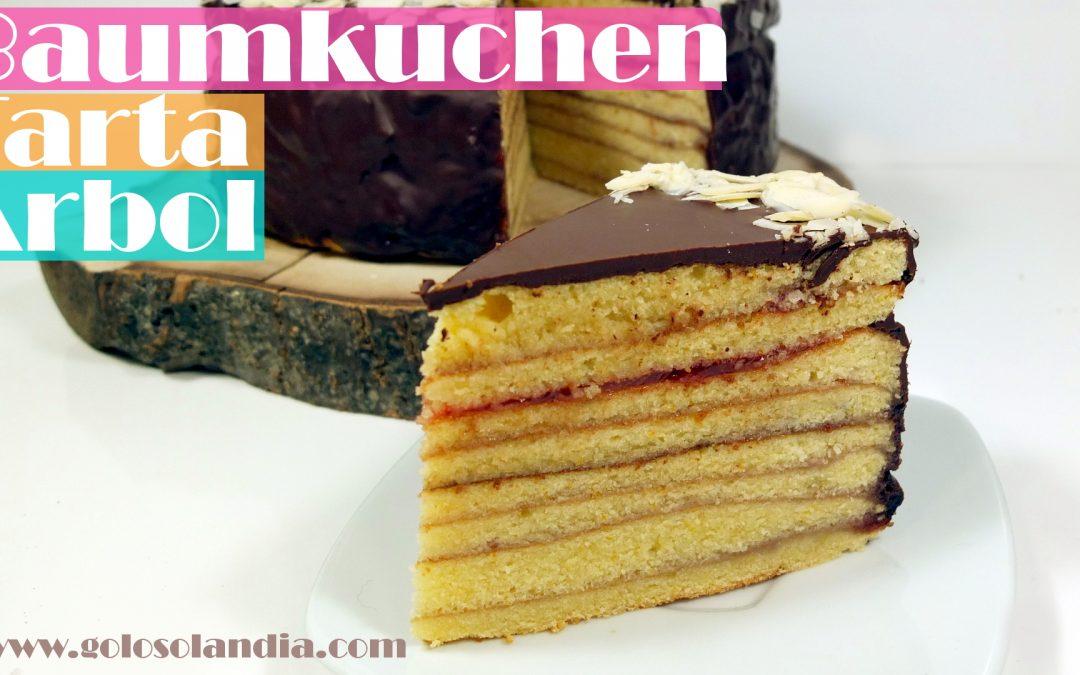 Baumkuchen o tarta árbol