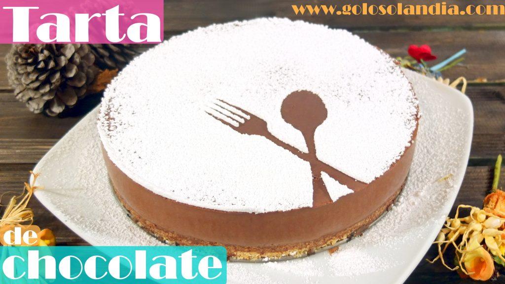 Tarta de chocolate muy fácil