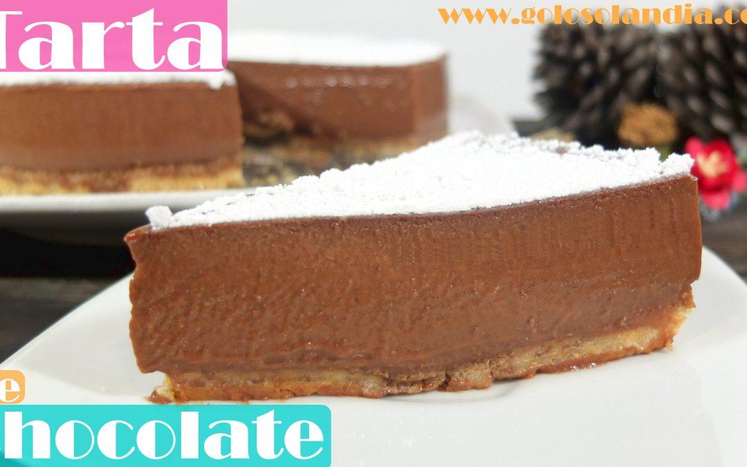 La tarta de chocolate mas fácil y deliciosa