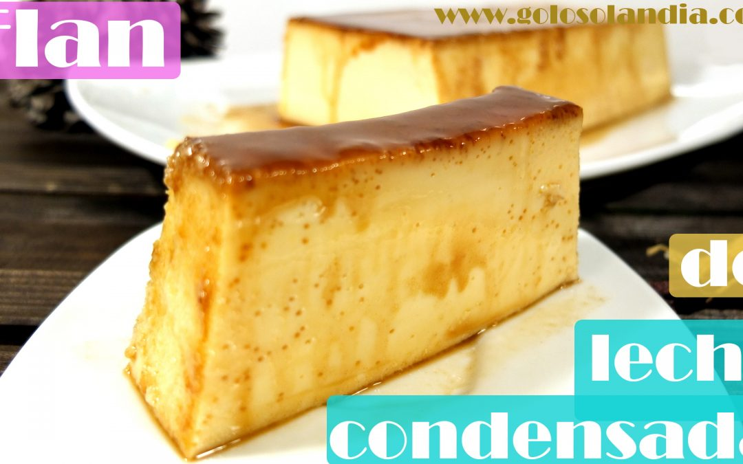 Flan de leche condensada