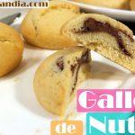 Galletas de Nutella o crema de cacao