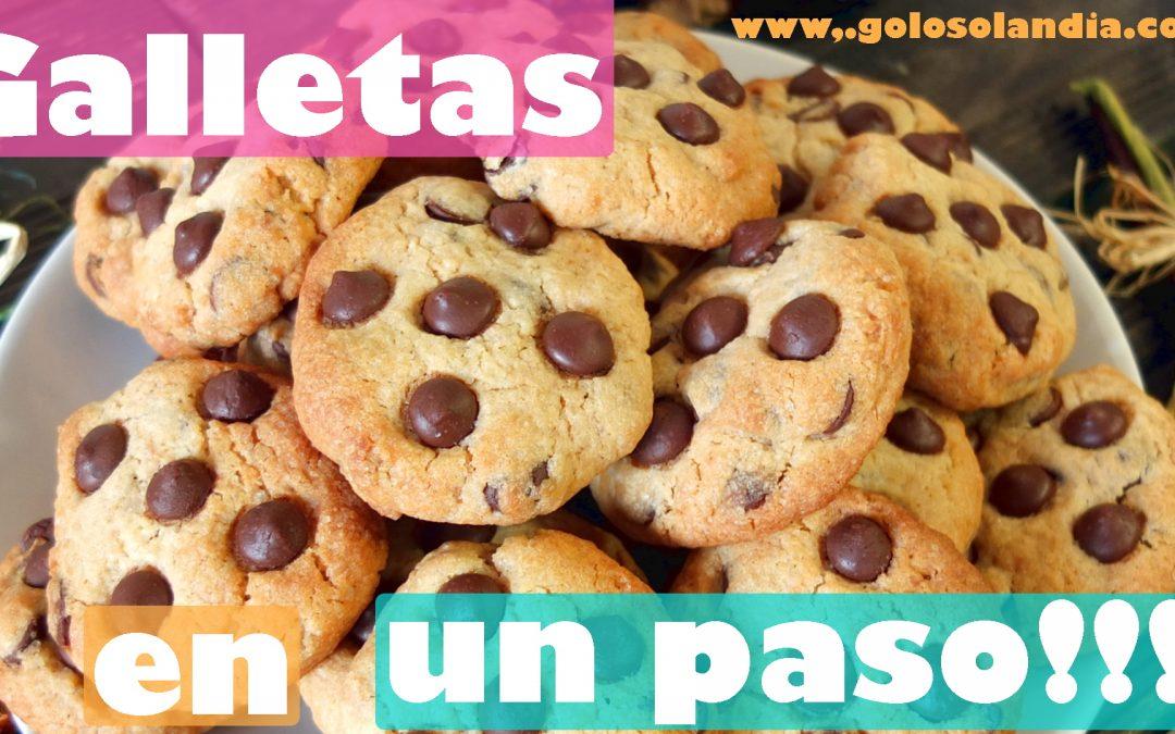 Cookies o galletas en un paso