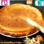 Pastel de queso fácil al horno receta
