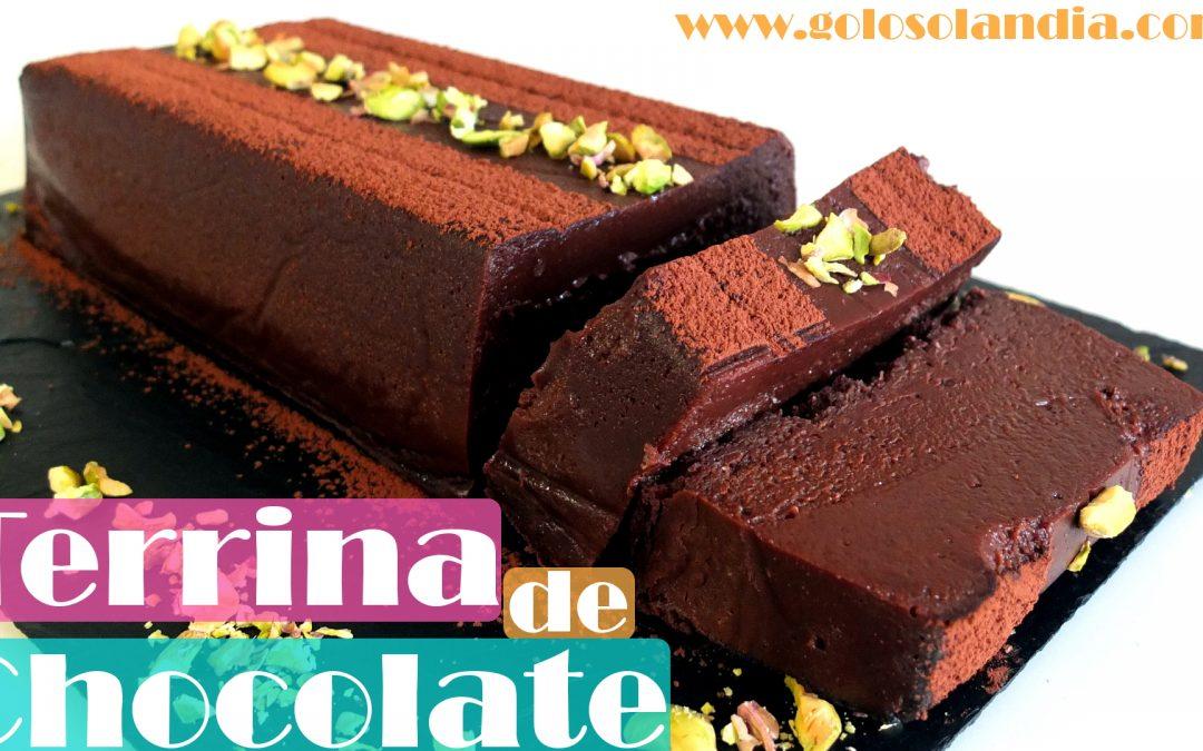 Terrina de chocolate