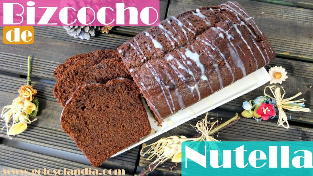 Bizcocho de Nocilla, Nutella o crema de cacao