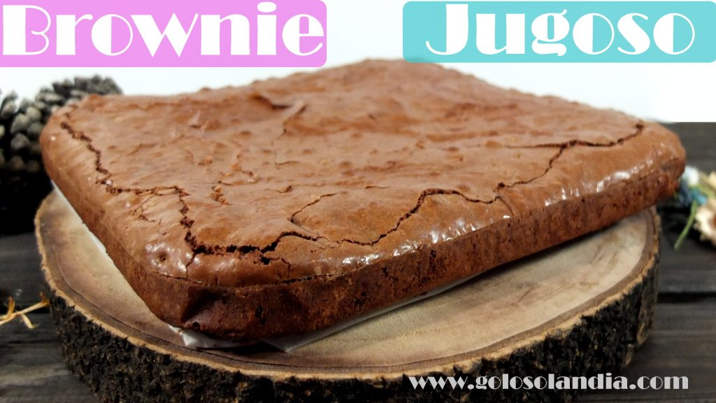 Brownie jugoso perfecto