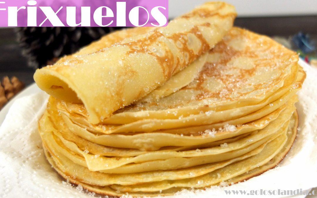 Frixuelos, receta Asturiana.