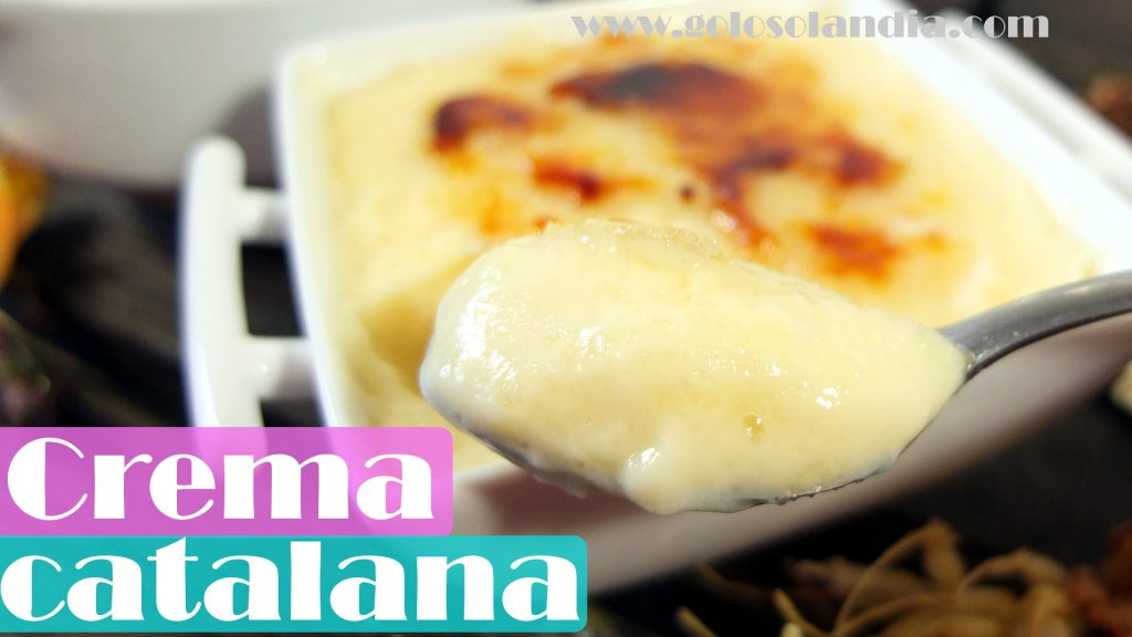 Crema Catalana receta casera
