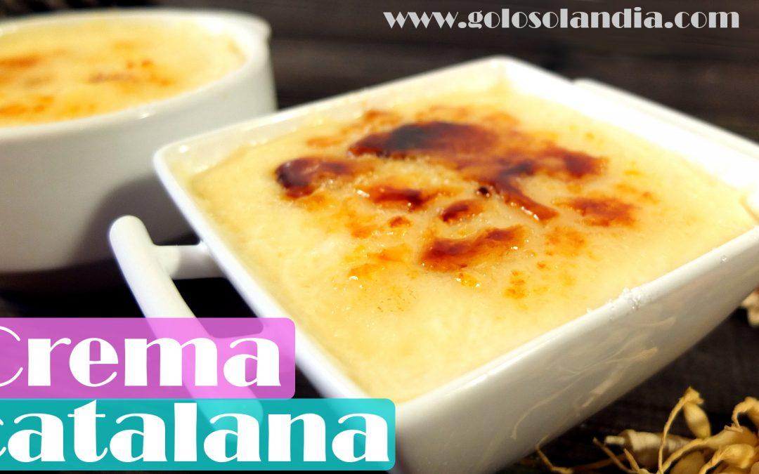Crema Catalana receta fácil