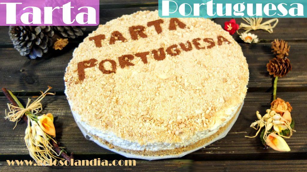 Tarta Portuguesa o Serradura.