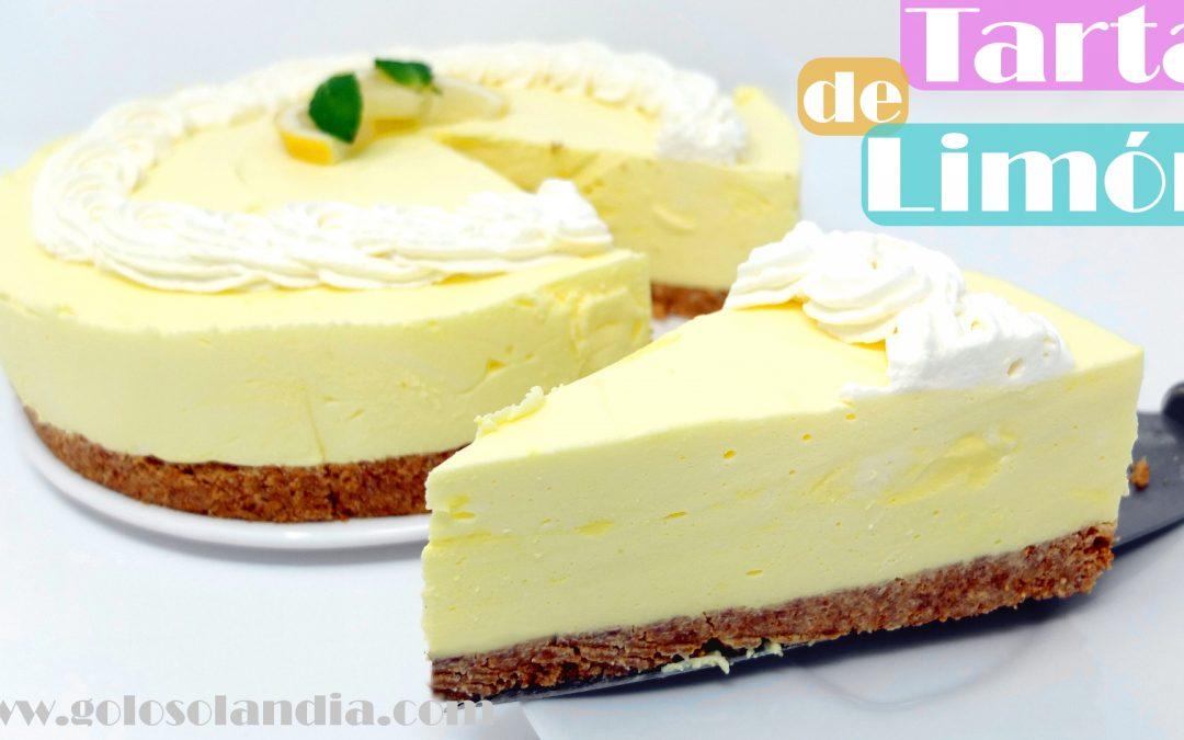 Tarta de limón sin horno y fácil