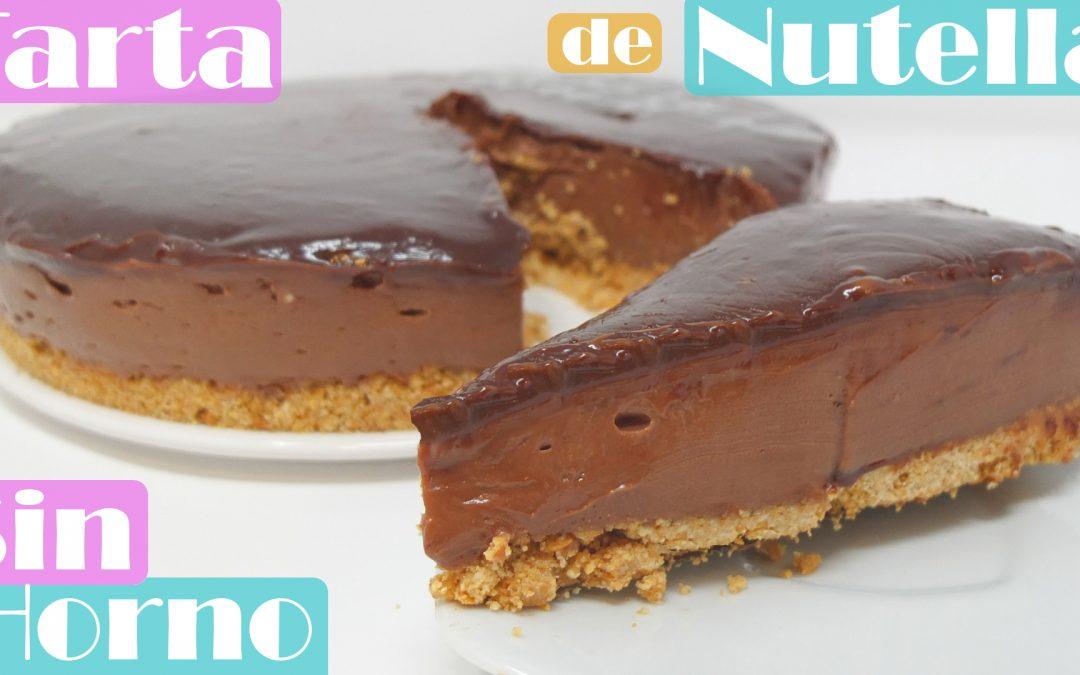 Tarta de Nutella sin horno faćil casera