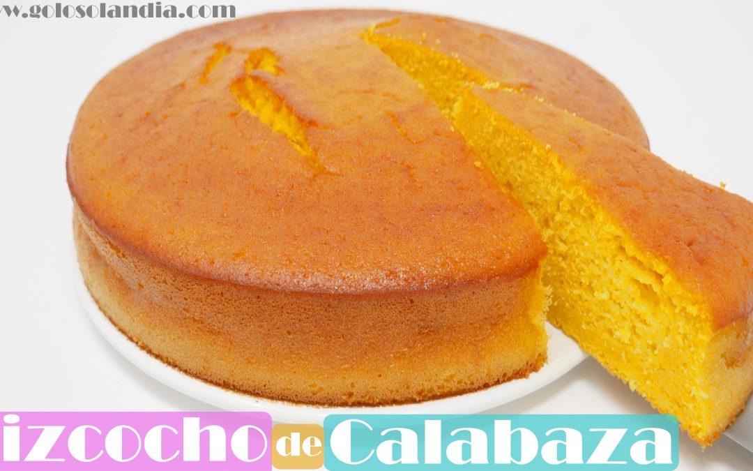 BIZCOCHO de CALABAZA ( ALTO y esponjoso)